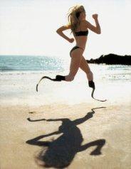 Prosthetic Running Leg